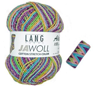 Lang Jawoll Cotton Stretch 4Ply
