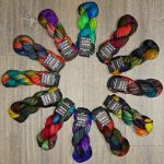 Color Story Yarns Hand Painted Sock