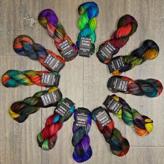Colour Story Yarns Hand Painted Sock