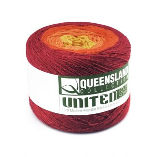 Queensland United Foursome - Fingering - Wool and Cotton