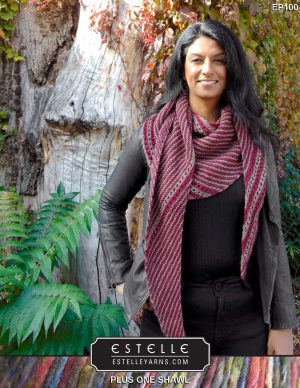 Plus One Shawl Designed By: Trish Campbell