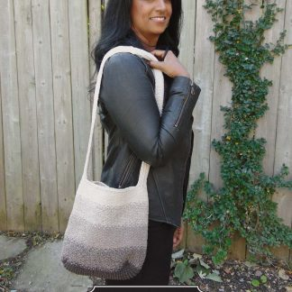 Linen Stitch Fade Bag Designed by: Helen Firing