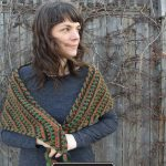 Harvest Shawl Designed By Trish Campbell