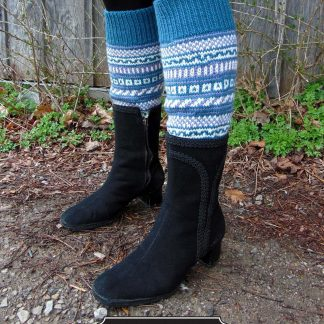 Hikers Boot Toppers Designed By: Michelle Porter