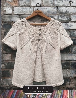 Final Cardigan Designed By: Michelle Porter