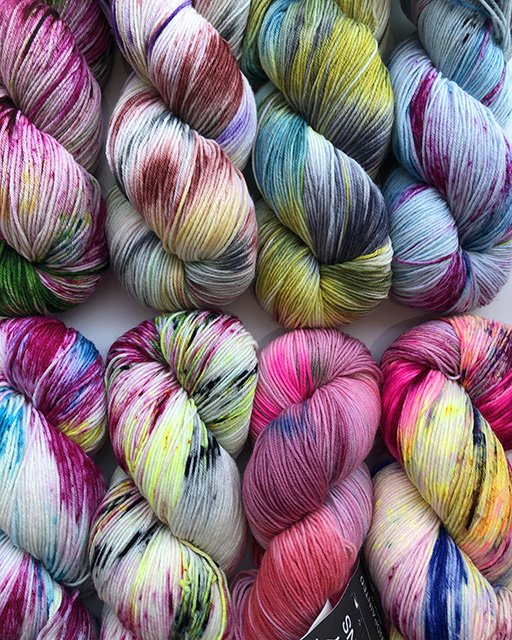 Colour Story Handpainted Yarns