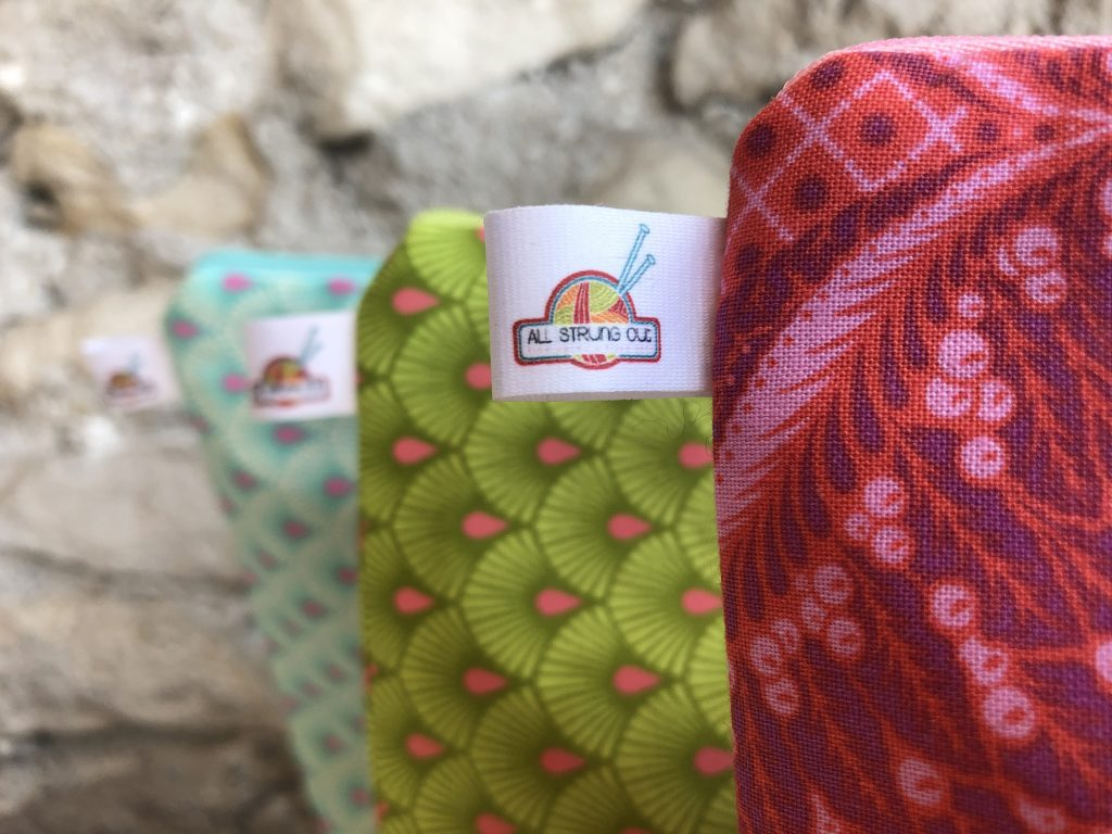 All Strung Out Fine Yarns Project Bags | Accessories