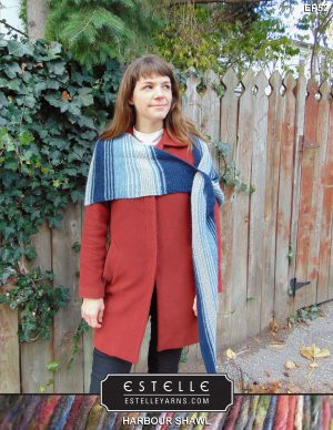 Harbour Shawl Designed By: Robbie Laughilin