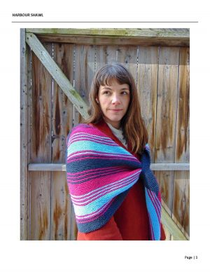 Harbour Shawl Designed By: Robbie Laughilin 2