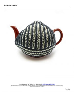 Brewed in Brioche Designed By: Trish Campbell 2
