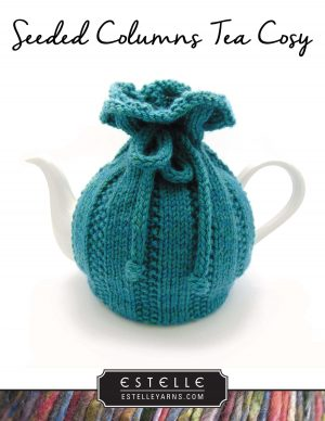 Seeded Columns Tea Cosy designed by: Trish Campbell