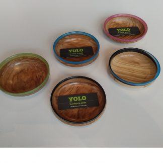 Hand Turned Wooden Notion Dish