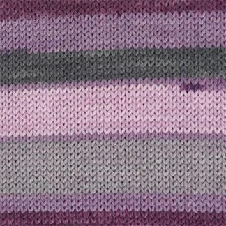 Heritage Prints - 70 Purple Smoke Stripe