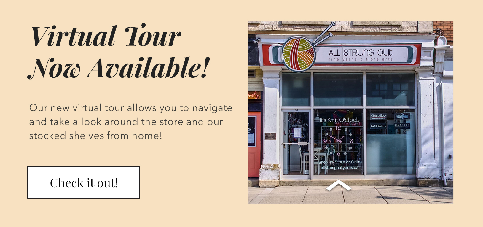 Virtual Store Tour now available!