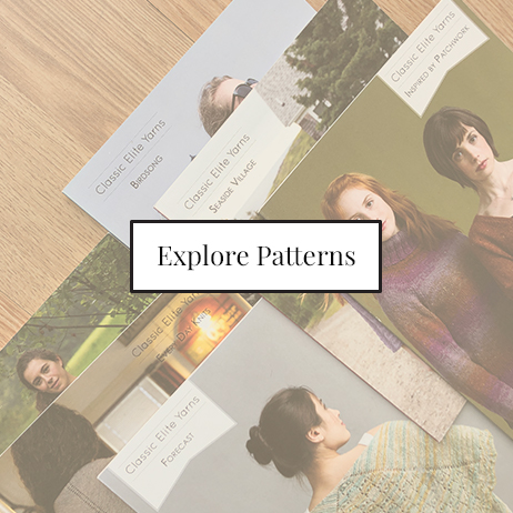 Explore patterns with your local yarn and knitting store