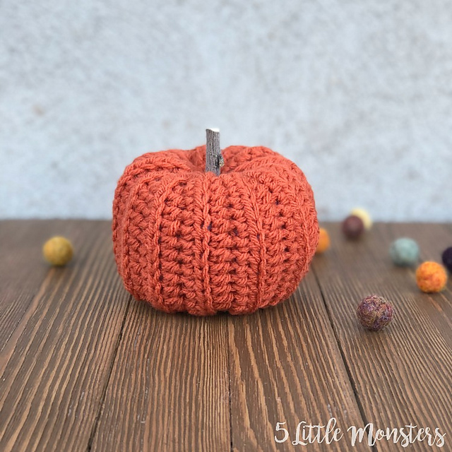 Fall Patterns Ribbed Pumpkins Erica Dietz