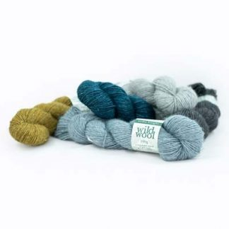 Erika Knight Wild Wool - Worsted - Wool and Viscose(Nettle)