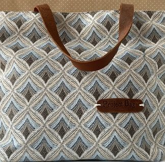 Canvas Project Knitting Bags